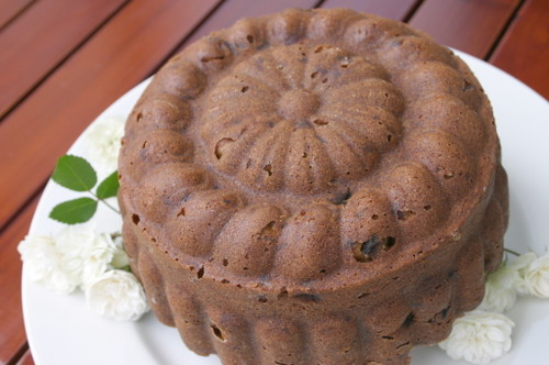 アン風秘密の森ケーキ